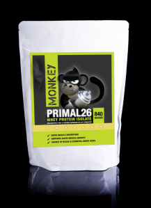 Monkey Nutrition whey isolate primal26