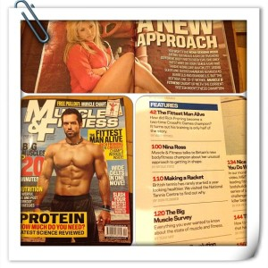 muscle and fitness freelance journalist features writer
