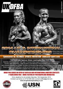 ukdfba natural bodybuilding championships 2014