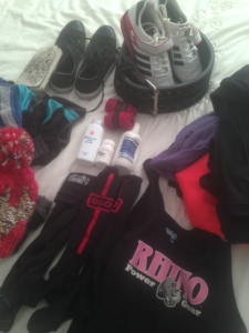 powerlifting comp meet packing list