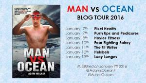 Man vs Ocean blog tour banner