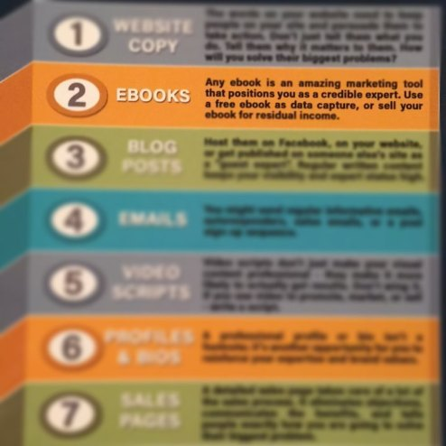 fitness writer ebook copywriting editing