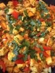 vegan recipe currytofu